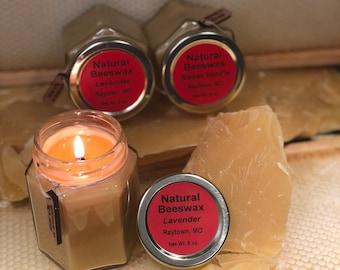 6oz. Lemon Verbena Beeswax Candle