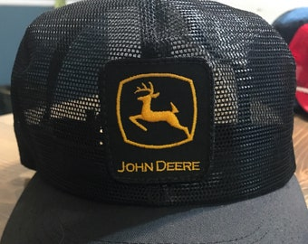 Vintage John Deere K-products hat b2d47abc14fd