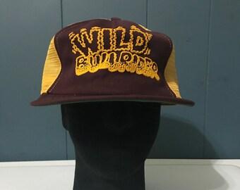 Vintage Wild Burner Hat