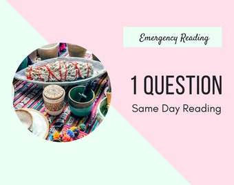 One Question Emergency Reading Tarot Same Day Reading One Question Tarot Reading Reliable Tarot Reading in 24 Hours Pcyshic Reading Same Day