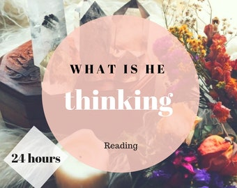 Psychic Reading One question Tarot Psychic Reading What is He Thinking Reading Same Day Reading Psychic Reading Tarot What are His Thoughts