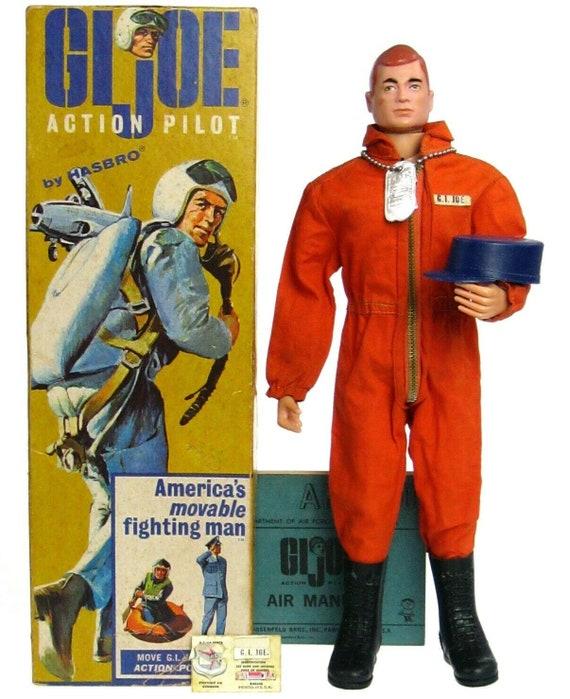 "Hasbro GI Joe Classic Action Man Pilot 12/"" Action Pilot Figure Brand New In Box!"