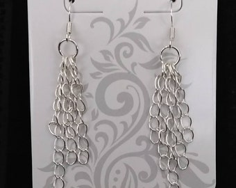 Simple chain link earrings