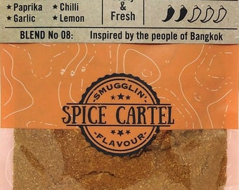 Thai Street Food | Artisanal Thai Spice Blend Inspired by Bangkok's Food Scene. Hand Made with Love in The UK.