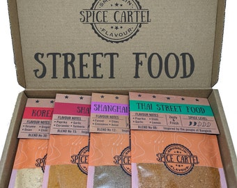 Asian Street Food Collection | Gourmet Spice Rubs & Marinades From Across Asia. Zero MSG, Maximum Flavour, So Easy To Use.