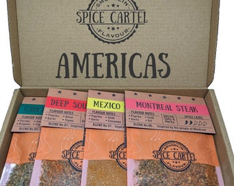 Americas Collection | Spice Rubs & Marinades From North and South America! Zero MSG, Maximum Flavour, So Easy To Use.
