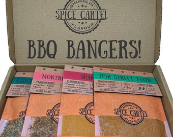BBQ Bangers Collection | Spice Rubs & Marinades For Seriously Tasty Barbecue. Zero MSG, Maximum Flavour, So Easy To Use.