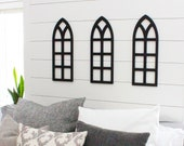 wooden arch, arched frame, farmhouse window, wooden frame, farmhouse decor, church window, shabby chic window, arch, farmhouse window pane