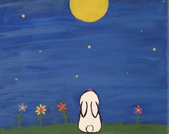 Bunny and the Moon