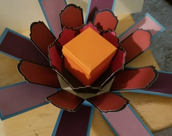 Custom Explosion Box Etsy