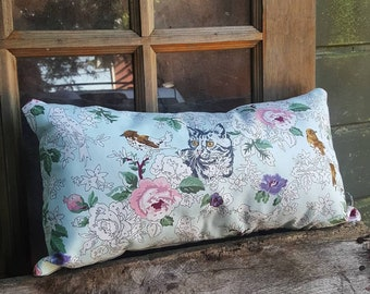 Paint By Numbers Cat Pillow