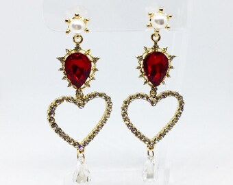 Royal Hearts in Red
