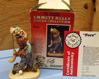 """Emmett Kelly  """"FORE"""""""