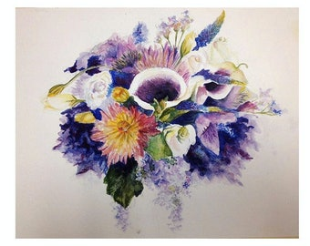 Custom watercolor paintings!