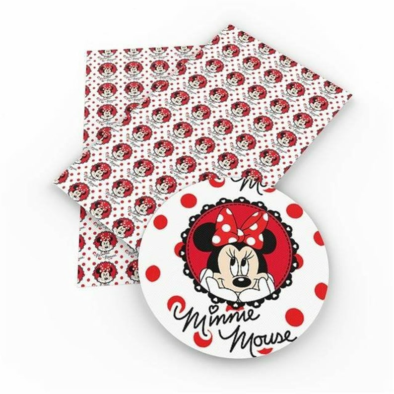 Minnie Faux leather sheets