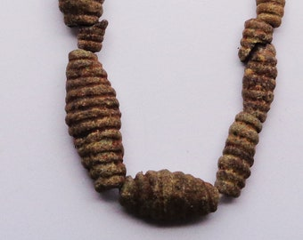 Mummy Bead Egyptian Bead Necklace Ancient Jewelry Mummy Beads African Jewelry 2000 B.C.