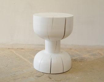 Wood Table, Round Table, Holztisch, Couchtisch, Side Table, Oak Table,  Coffee Table, End Table,