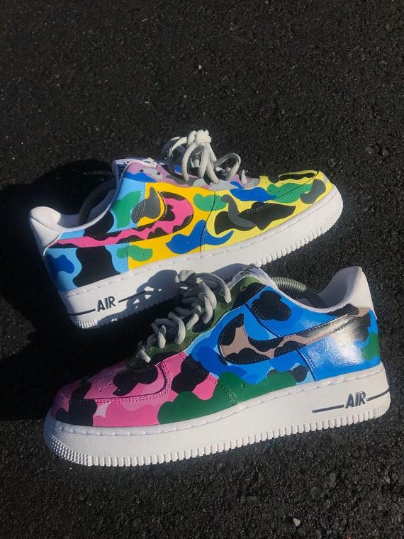 Customized Nike Air Force One Custom