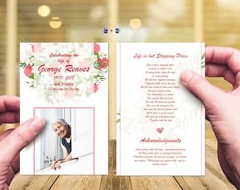 Editable Prayer Card