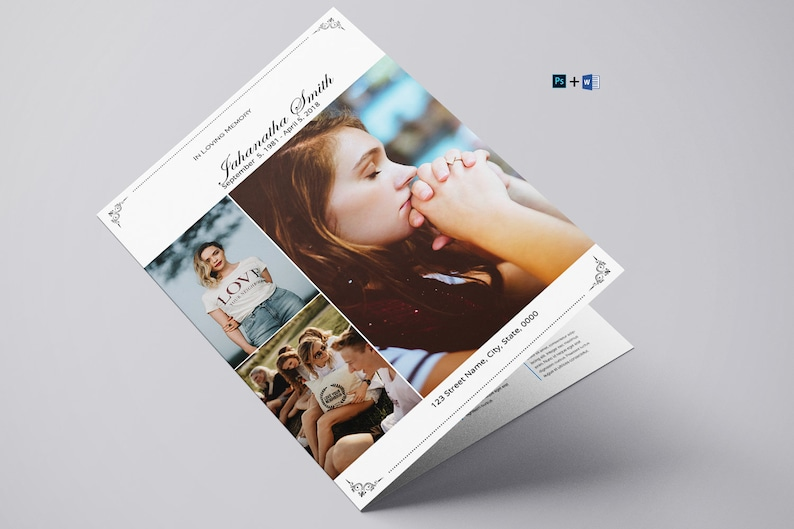 Editable Photoshop and MS Word Template Instant Download V19 ...