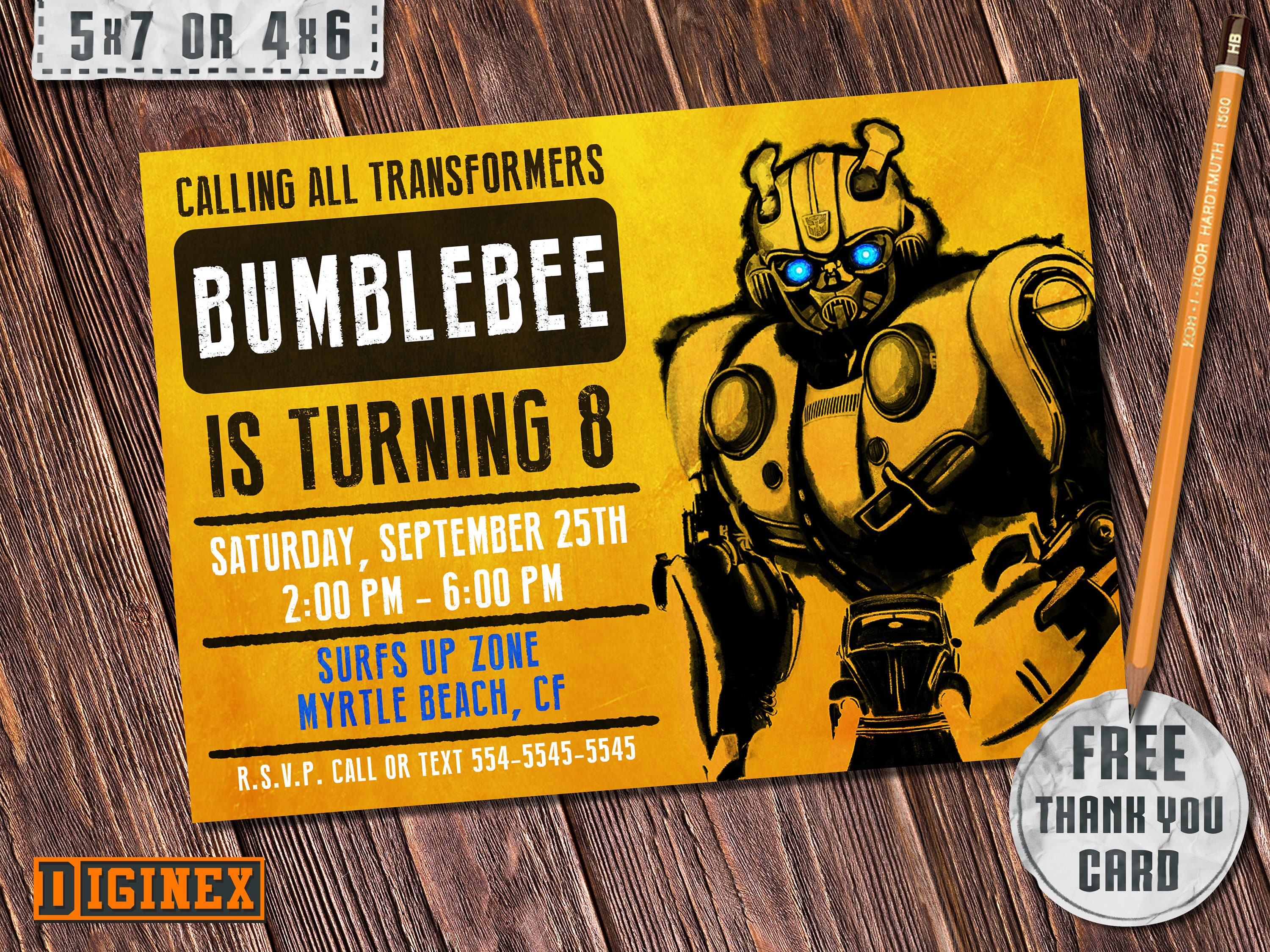 picture regarding Transformer Birthday Invitations Printable Free identified as Bumblebee Invitation, Transformers Invitation, Bumblebee Transformers Invite, Bumblebee Social gathering Invites, Bumblebee Birthday Invites