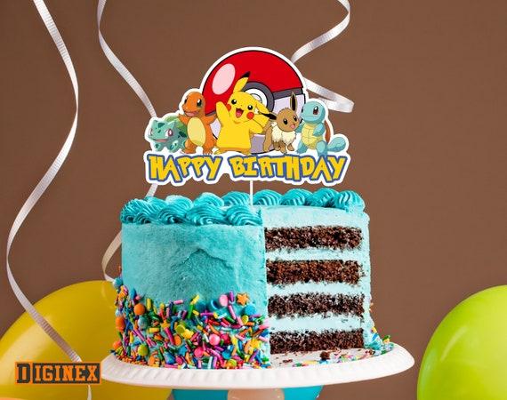 Fine Where Can I Buy A Pokemon Birthday Cake Birthday Cakes Funny Birthday Cards Online Eattedamsfinfo