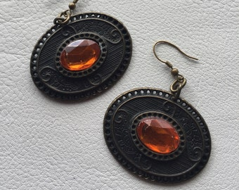 Vintage earrings dangle earrings boho earrings