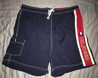 9b4d29b625adf Vintage Tommy Hilfiger Swimming Trunks