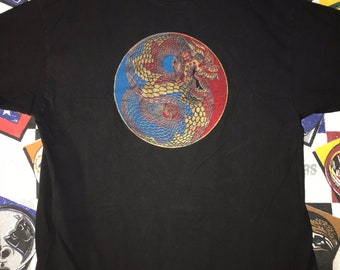 90's Beefy Tee with Oriental Dragon