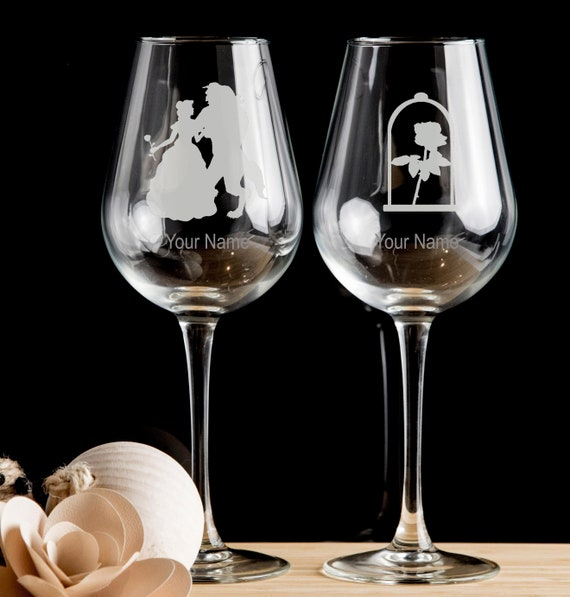 Wine Glass Sloth Personalised Etched glass white red wine.40