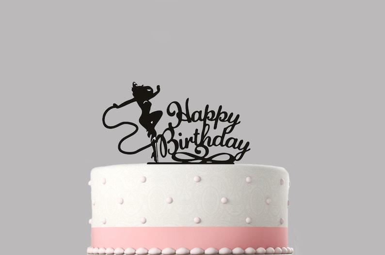 Wonder Woman Birthday Cake Topper AcrylicHappy