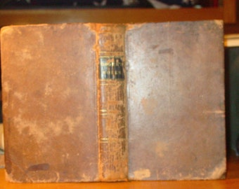1839 Thomas Moore Poetical Works Complete by Thomas Moore (Leather Epistles Fables Anacreon Rare)