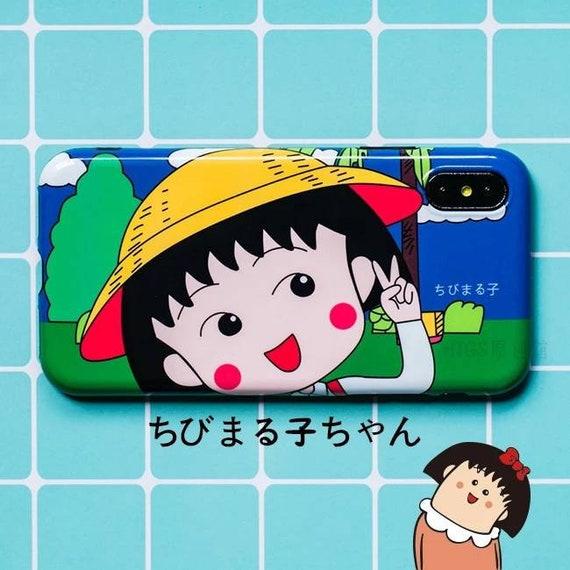 iphone x 6 6s 7 8 chibi maruko chan painting style case (ちびまる子ちゃん)  chibi maruko chan live action instalki.php #12