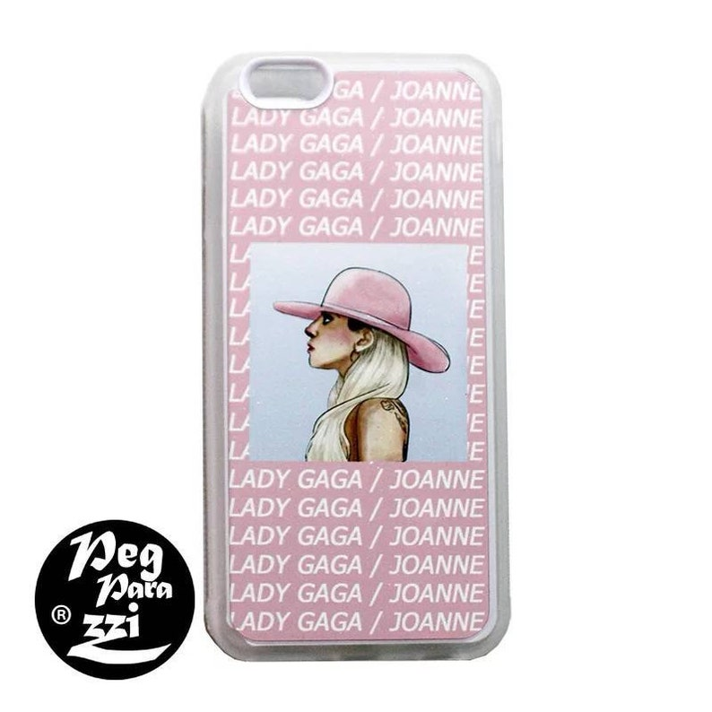 release date: 505c3 77484 IPhone X/6/6S/7/8 Lady Gaga Joanne hand painting style phone case