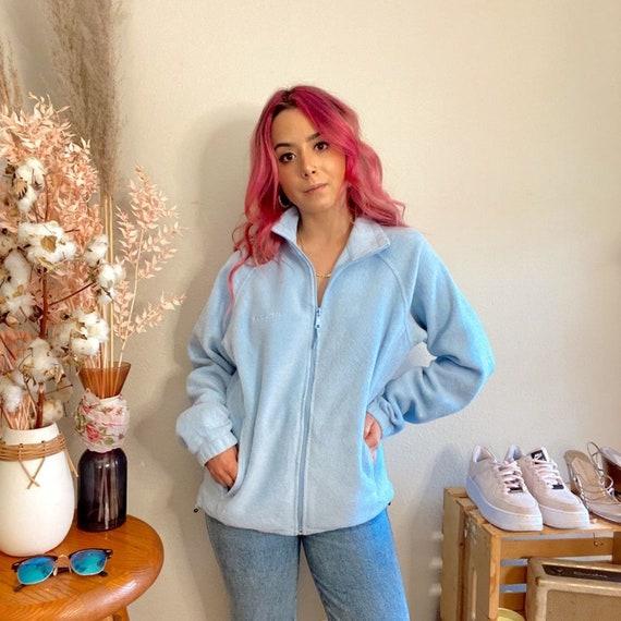 Vintage 1990s Columbia Baby Blue Fleece