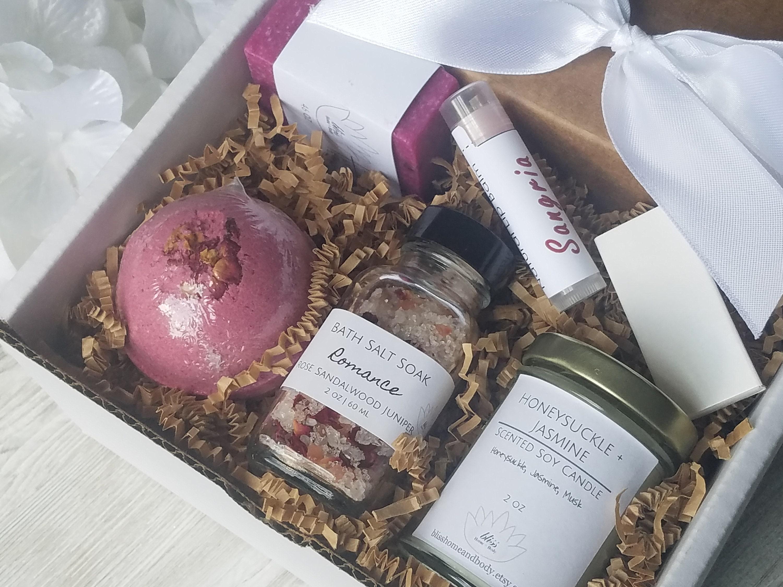 Romantic Gift Box Petite Anniversary Gift Birthday Gift Etsy