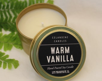 Set of two 4 oz Soy Candle (choose two scents) from Celandine Candles