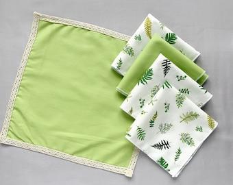Zero Waste Eco Friendly Printed Cotton Handkerchief Australian Handmade 100/% Cotton Hanky