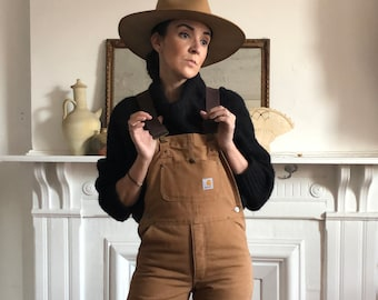ba399a3aa8 Vintage Carhartt Overalls with Quilt Liner
