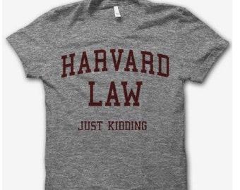 b6409ed94322 Harvard Law JK Men/Women Tshirt