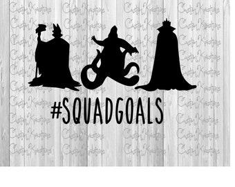 Squad Goals - Villians
