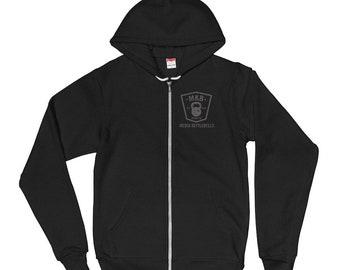 MKB Zip Front Hoodie