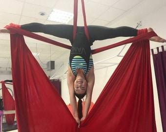 Aerial Silks With swivel (Aerial Fabric). All Color Options