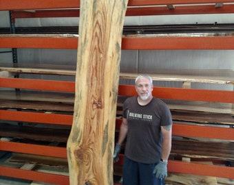 Pine live edge wood slabs