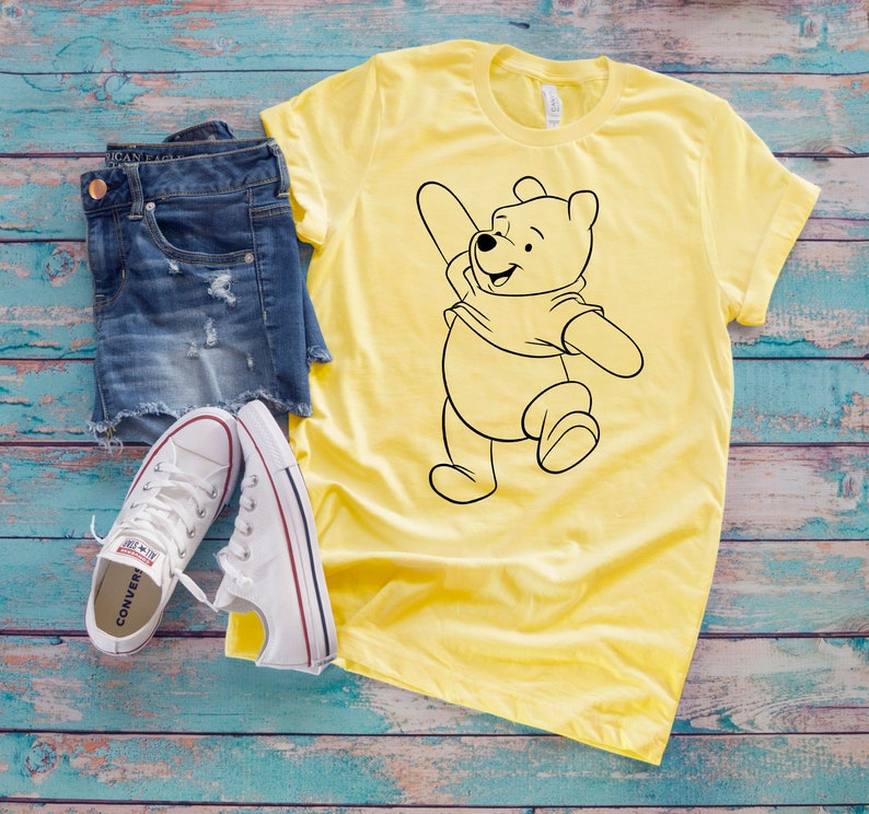 Personalized Winnie the Pooh T-Shirt