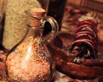 Herbal Rose and Himalayan Pink Sea Salt Bath Soak