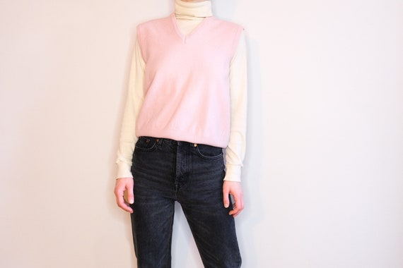 United Color of Benetton Pale Blush Pink Wool Swea