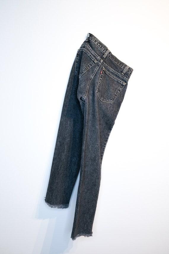 Levi's Jeans - Washed Black - Black Wash