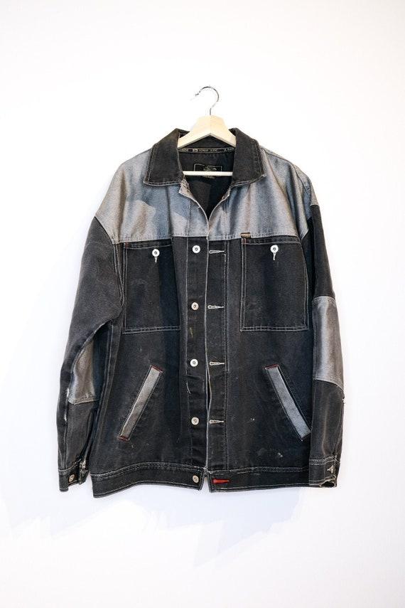 Painter's Jacket - Oversize Patchwork Denim Jacket