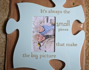 Frame-Puzzle-Small Pieces Make the Big Picture
